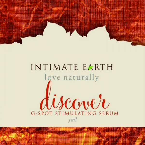 Intimate Earth Discover G Spot Gel Foil Pack .10oz