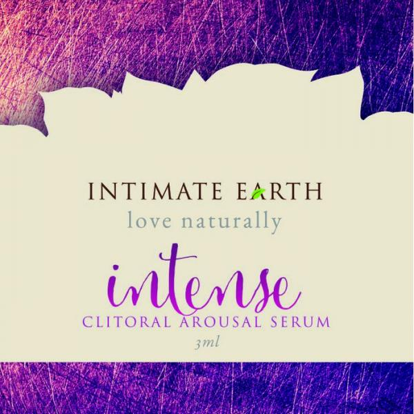 Intimate Earth Intense Clitoral Gel Foil Pack Sample Size