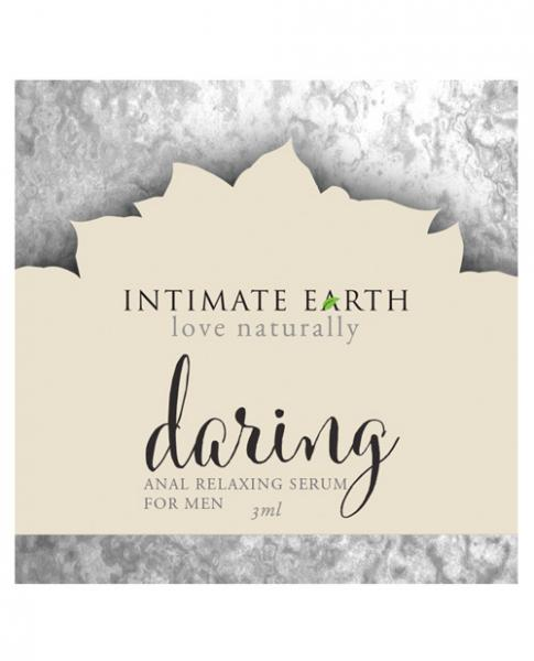 Intimate Earth Daring Anal Serum For Men Foil Sachet .10oz