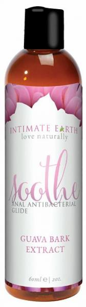 Intimate Earth Soothe Anal Antibacterial Glide 2oz