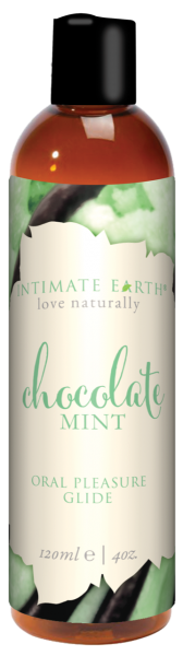 Intimate Earth Chocolate Mint Oral Pleasure Glide 4oz