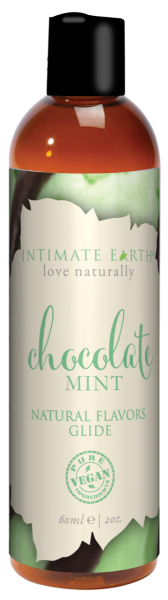 Intimate Earth Chocolate Mint Glide 2oz