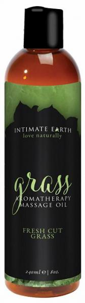 Intimate Earth Grass Massage Oil 8oz