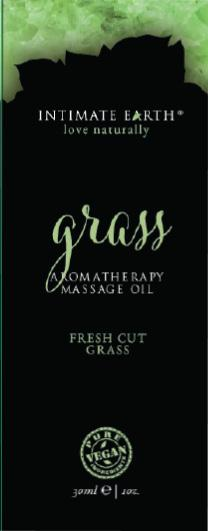 Intimate Earth Grass Massage Oil Foil Sachet 1oz