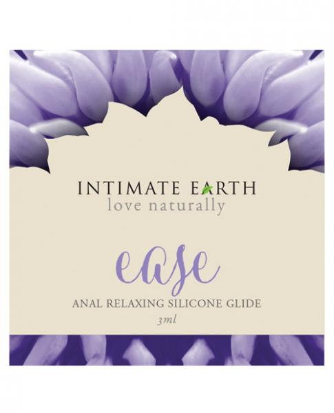 Intimate Earth Easy Relaxing Anal Silicone Foil Sachet .10oz