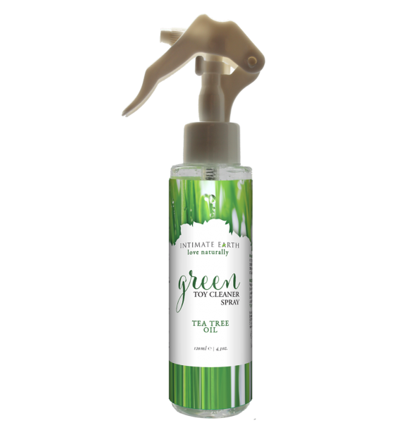 Intimate Earth Green Tea Tree Oil Toy Cleaner Spray 4.2oz