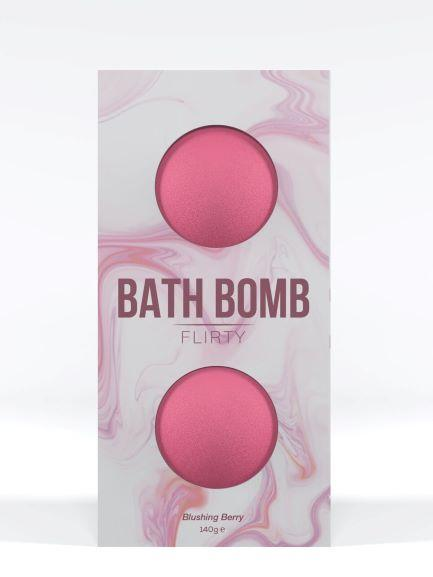 Dona Bath Bomb Flirty Blushing Berry 4.93 ounces