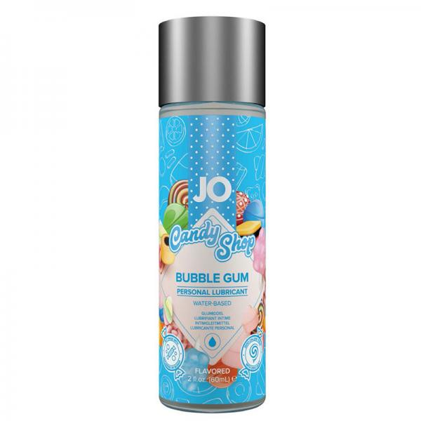 JO H2O Candy Shop Lubricant Bubblegum 2oz