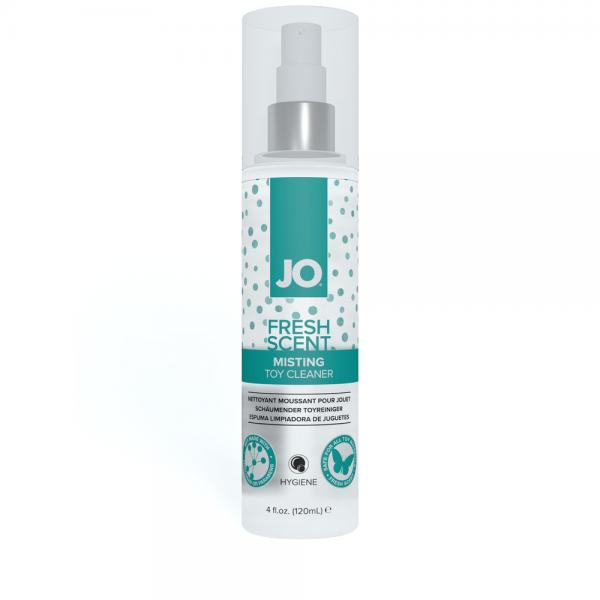 JO Fresh Scent Misting Toy Cleaner 4 fluid ounces