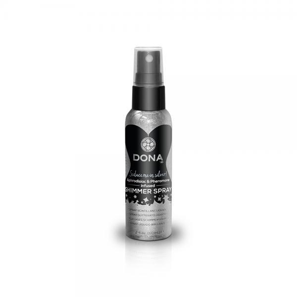 Dona Shimmer Spray Silver Tropical Tease 2oz