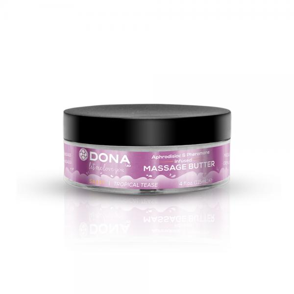 Dona Massage Butter Sassy Tropical Tease 4oz