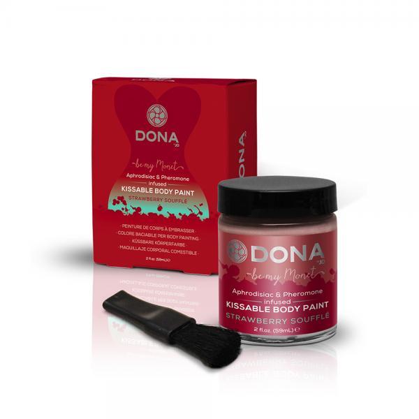 Dona Body Paint Strawberry Souffle 2oz