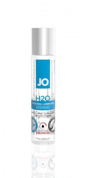 JO H2O Warming Lubricant 1oz Bottle
