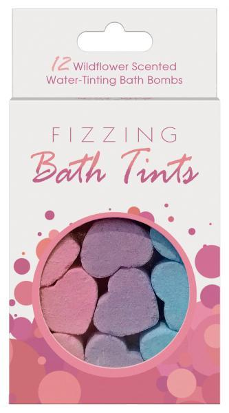 Fizzing Bath Tints 12 Bath Bombs