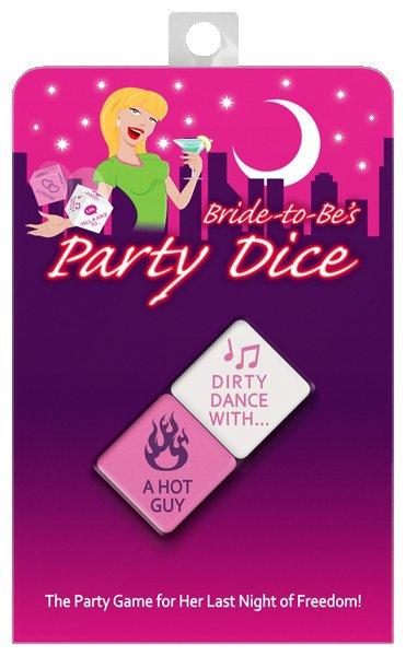 Bride To Be Party Dice Game