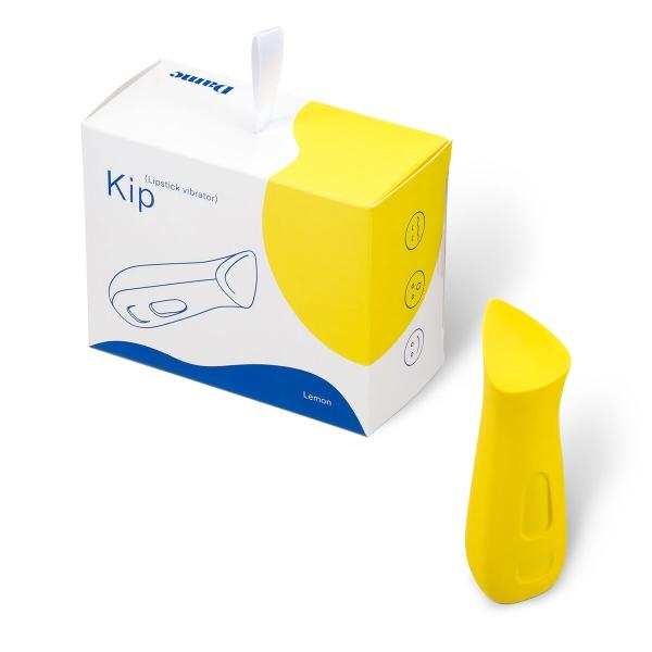 Kip Lemon Yellow Lipstick Vibrator