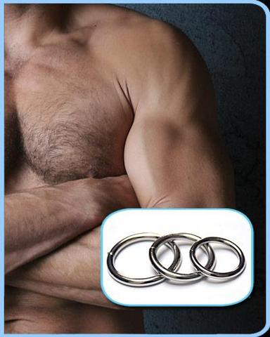 Steel O-Ring 3 Pack