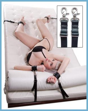Bedspread Under Bed Bondage Straps