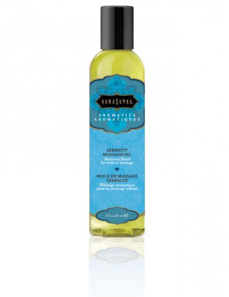 Aromatic Massage Oil Serenity 8oz