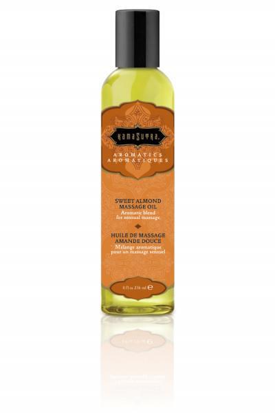 Aromatic Massage Oil Sweet Almond 8oz