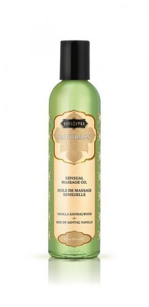 Kama Sutra Naturals Massage Oil Vanilla Sandalwood