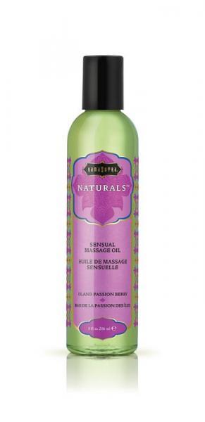 Kama Sutra Naturals Massage Oil Island Passion Berry 8oz
