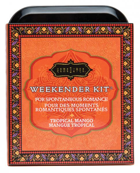 Kama Sutra The Weekender Tropical Mango Kit