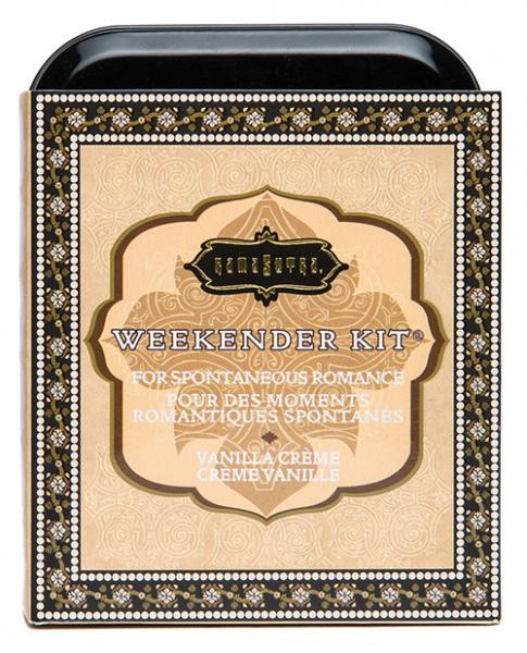 Kama Sutra The Weekender Kit Vanilla Creme