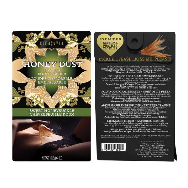 Kama Sutra Honey Dust Honeysuckle 1oz