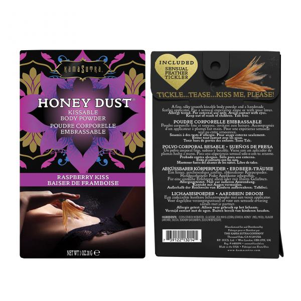 Kama Sutra Honey Dust Raspberry 1oz