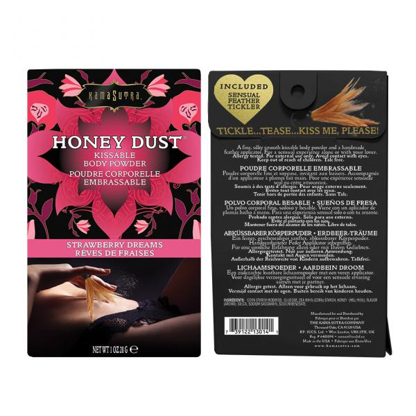 Kama Sutra Honey Dust Strawberry 1oz