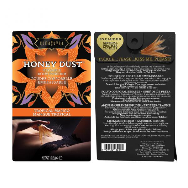 Kama Sutra Honey Dust Tropical Mango 1oz