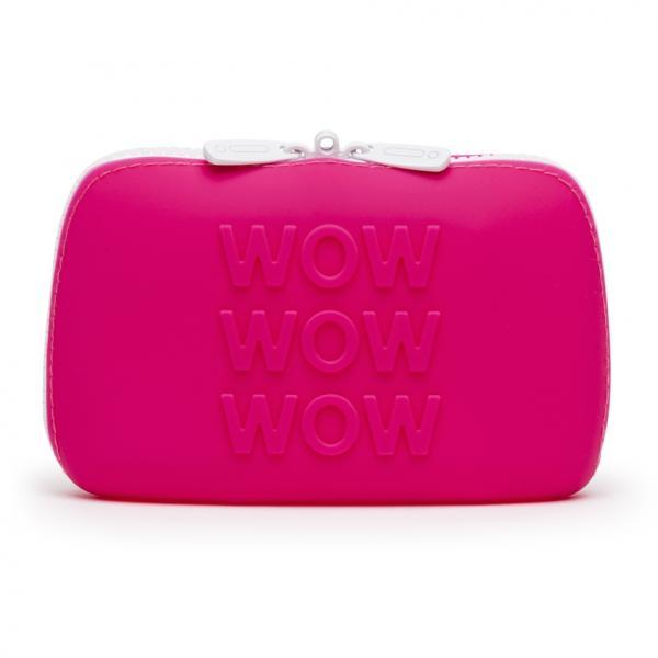 Happy Rabbit WOW Small Pink Zip Storage Bag