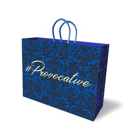 #Provocative Big Gift Bag Blue