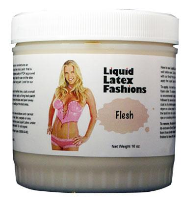 Liquid Latex Solid Flesh 16oz Body Paint