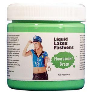 Liquid Latex Fashions Fluorescent Green 16oz