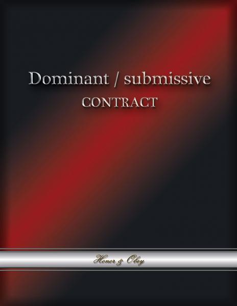 Dominant/Submissive Contract