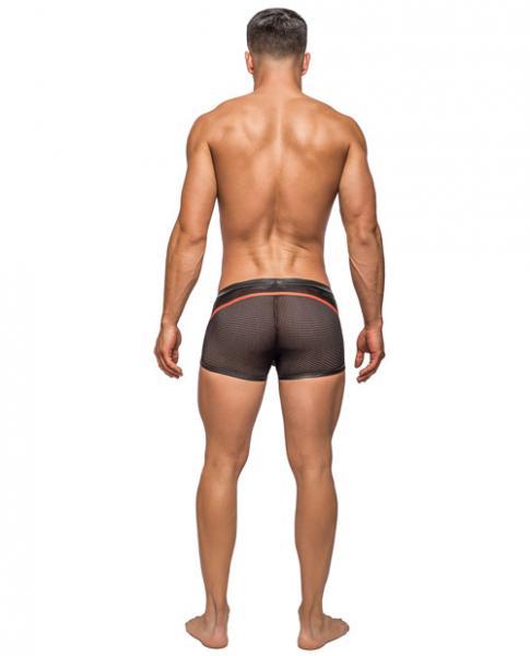 Camo Sport Net Sport Shorts Black Small