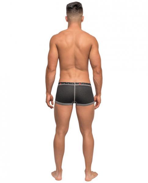 Reversible Mini Shorts Gray Black XL