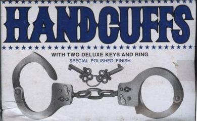 Hand Cuffs-Metal
