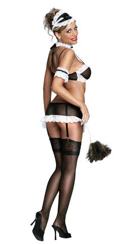 French Maid Black Medium