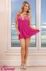 Babydoll & Thong Set Pink Large