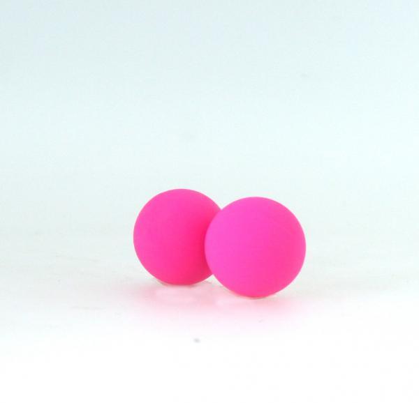 Kegel Balls Silicone Neon Pink