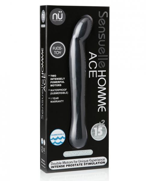 Sensuelle Homme Ace Black Prostate Massager