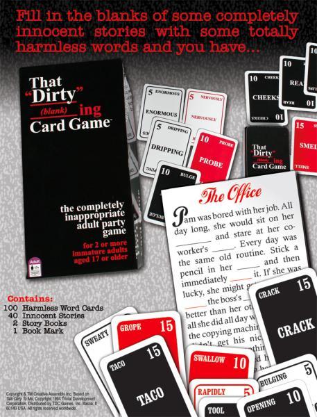 Dirty Blank_ing Card Game