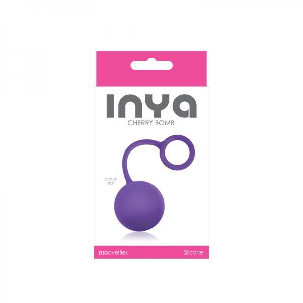 Inya Cherry Bomb Purple Ben Wa Single Ball