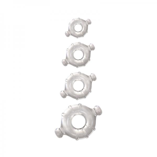Renegade Vitality Rings Clear 4 Pack