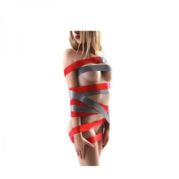 Strapease XL Bondage Straps 8ft Red