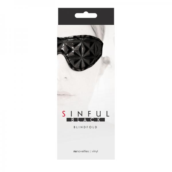 Sinful Black Blindfold