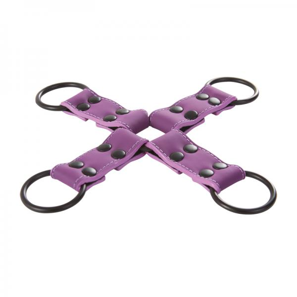 Lust Bondage Hogtie Purple